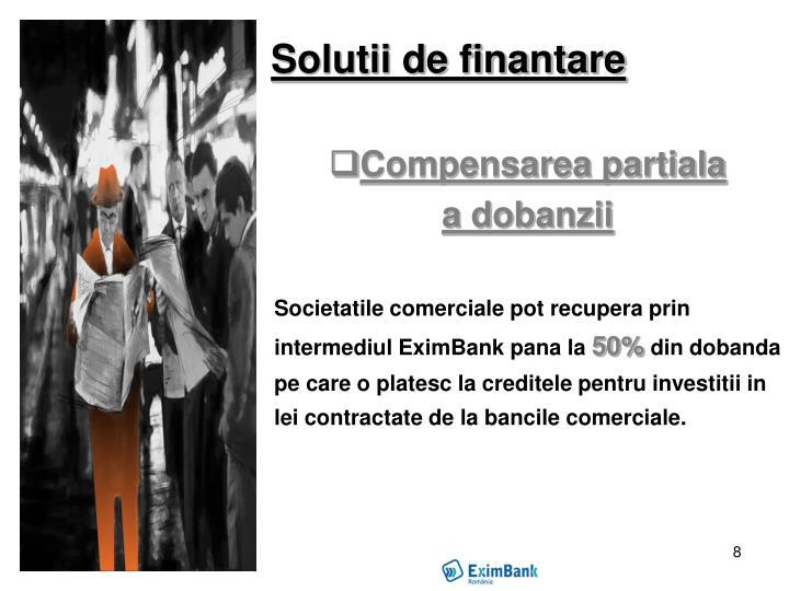 Solutii de finantare