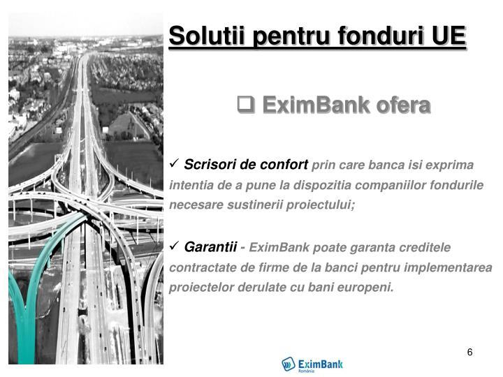 Solutii pentru fonduri UE