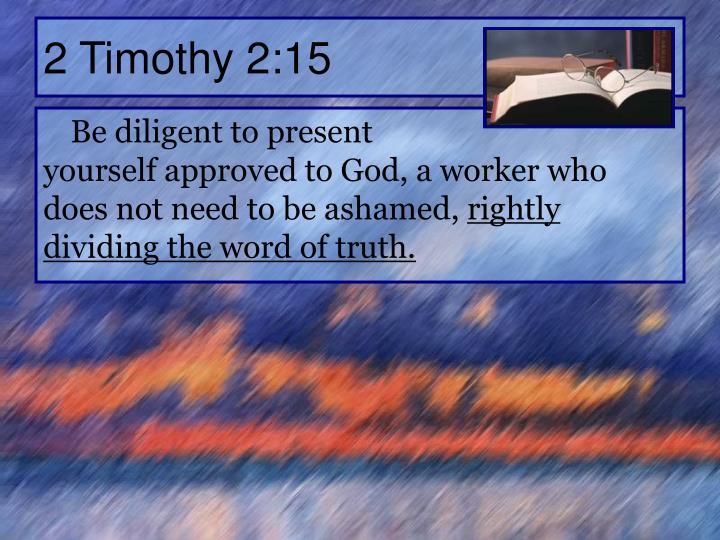 2 Timothy 2:15
