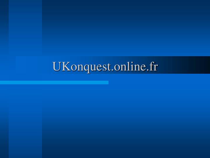 UKonquest.online.fr