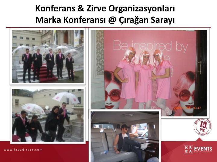 Konferans & Zirve Organizasyonları