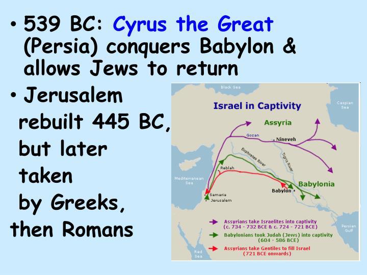 539 BC: