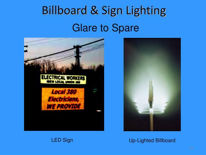 Billboard & Sign Lighting