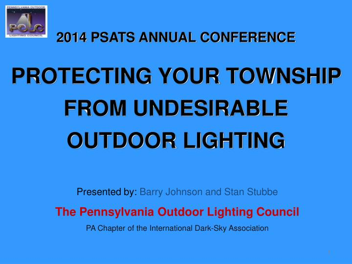 2014 PSATS ANNUAL CONFERENCE