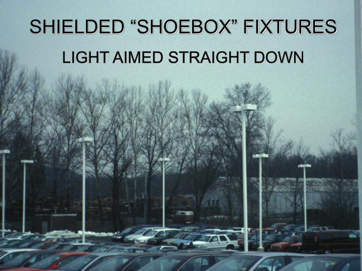 """SHIELDED """"SHOEBOX"""" FIXTURES"""