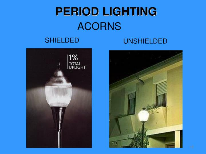 PERIOD LIGHTING