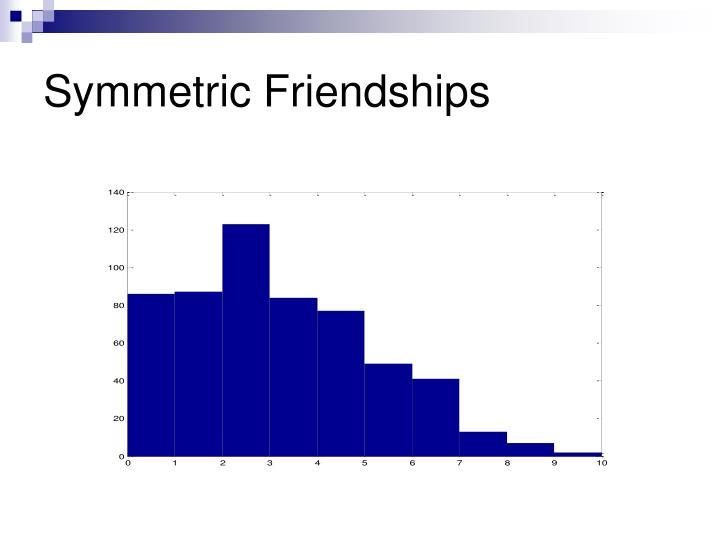 Symmetric Friendships