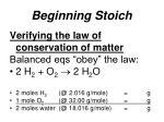 beginning stoich6