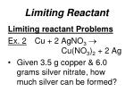 limiting reactant3