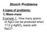 stoich problems2