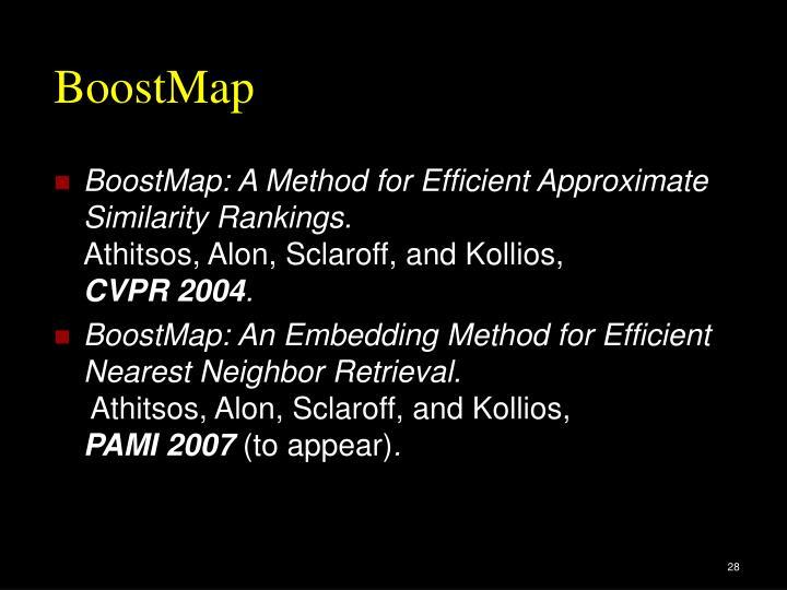 BoostMap