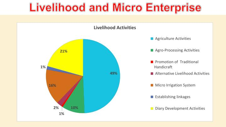 Livelihood and Micro Enterprise