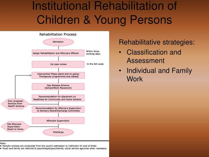 Institutional Rehabilitation of Children & Young Persons