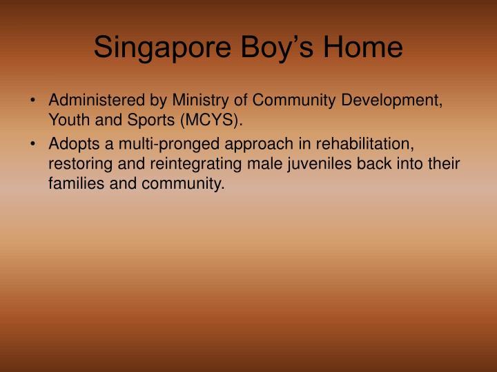 Singapore Boy's Home