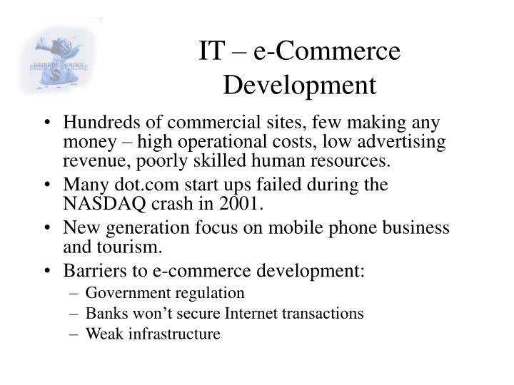 IT – e-Commerce Development