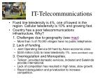 it telecommunications