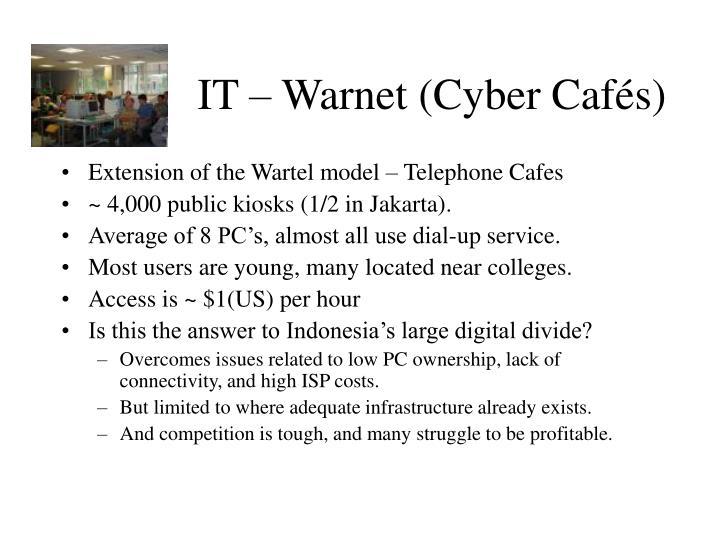 IT – Warnet (Cyber Cafés)