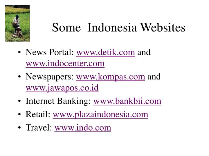 Some  Indonesia Websites