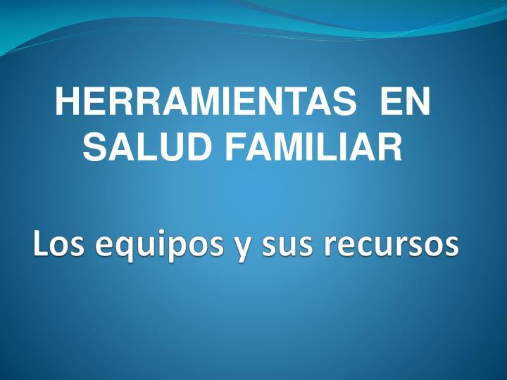 HERRAMIENTAS  EN