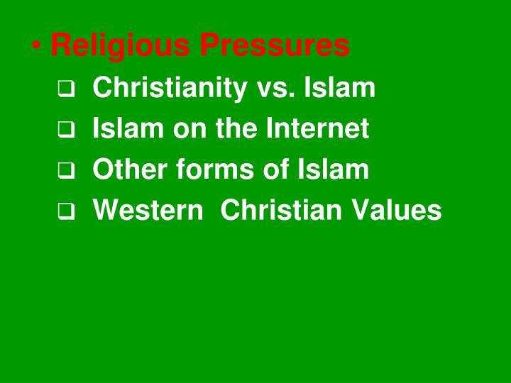 Religious Pressures