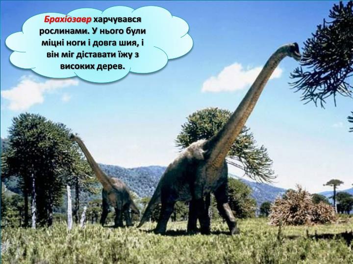 Брахіозавр