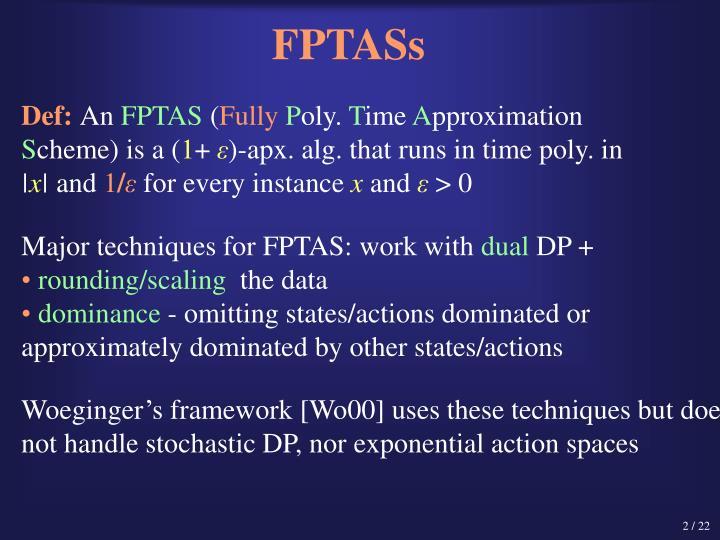 FPTASs