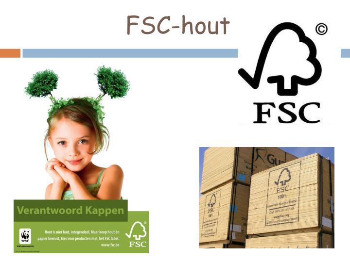 FSC-hout