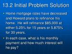13 2 initial problem solution