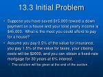 13 3 initial problem
