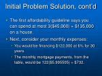 initial problem solution cont d6