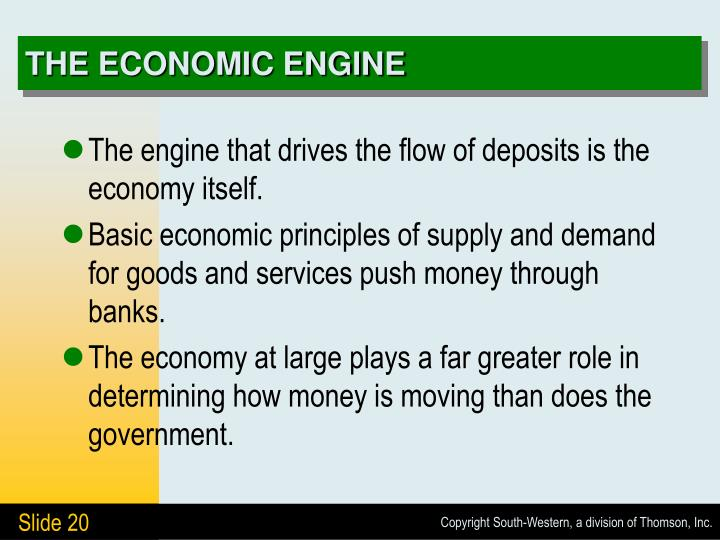 THE ECONOMIC ENGINE