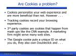 are cookies a problem