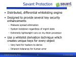 savant protection