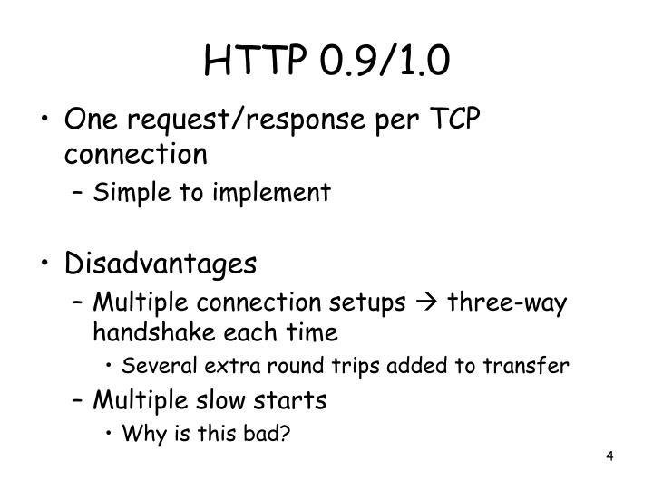 HTTP 0.9/1.0