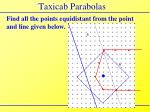 taxicab parabolas1