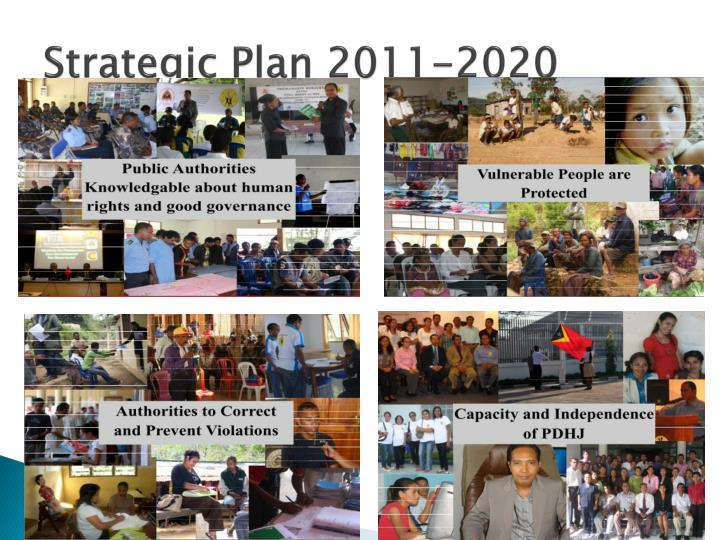Strategic Plan 2011-2020