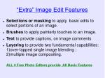 extra image edit features