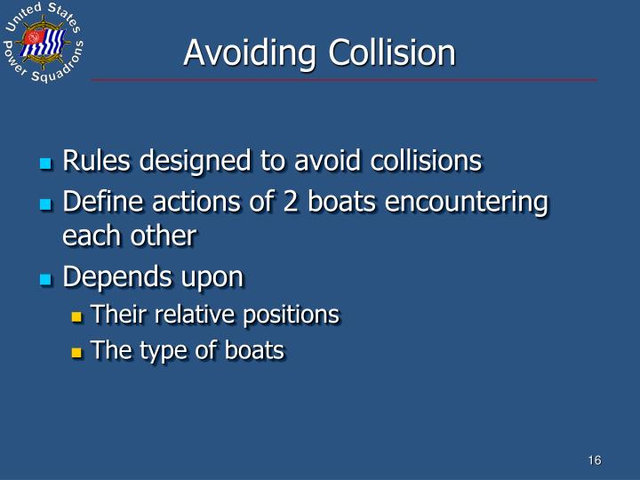 Avoiding Collision