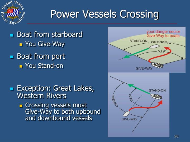 Power Vessels Crossing