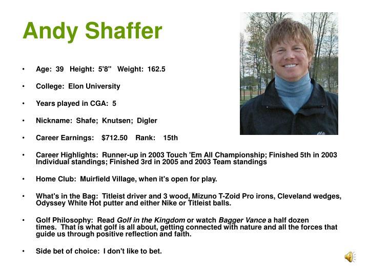 Andy Shaffer