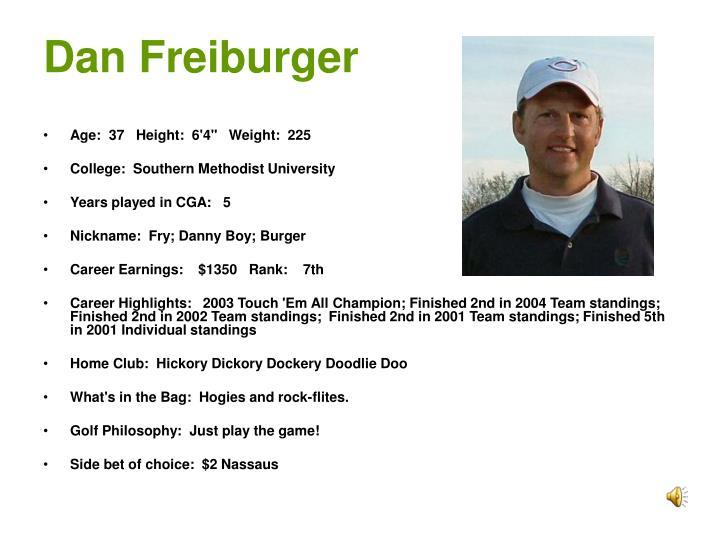 Dan Freiburger