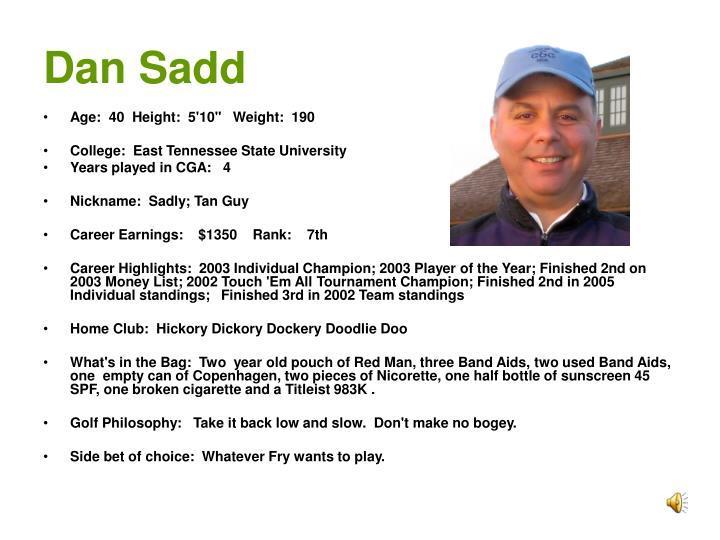 Dan Sadd
