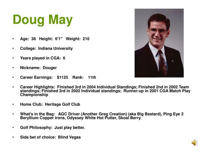 Doug May