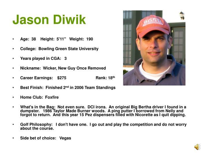 Jason Diwik