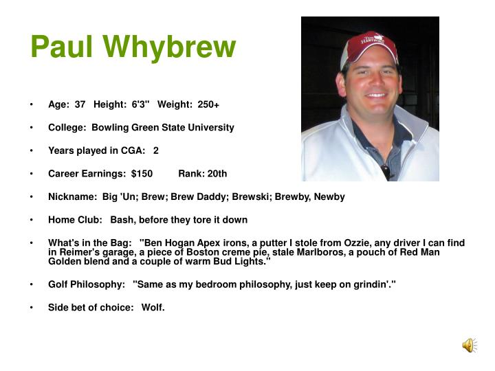 Paul Whybrew