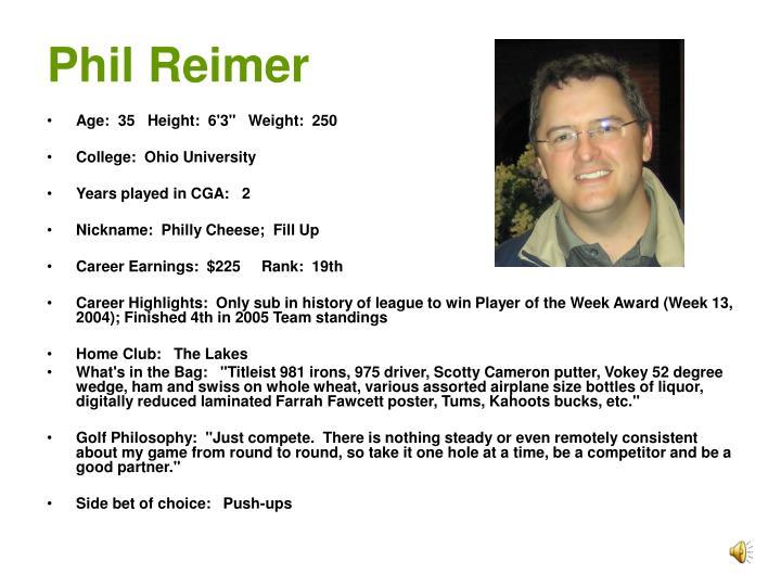 Phil Reimer