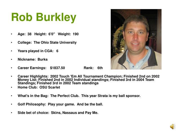Rob Burkley