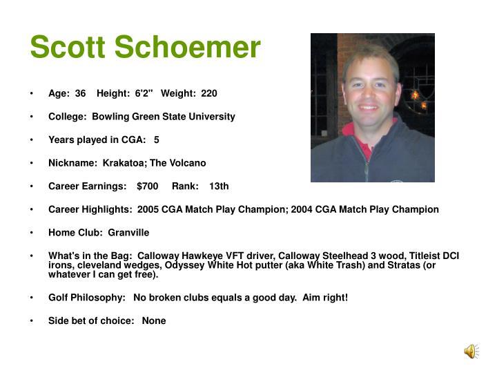 Scott Schoemer