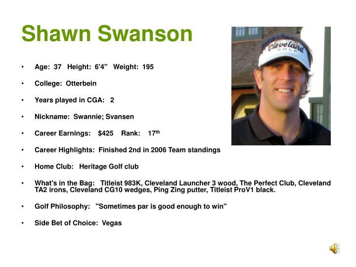Shawn Swanson