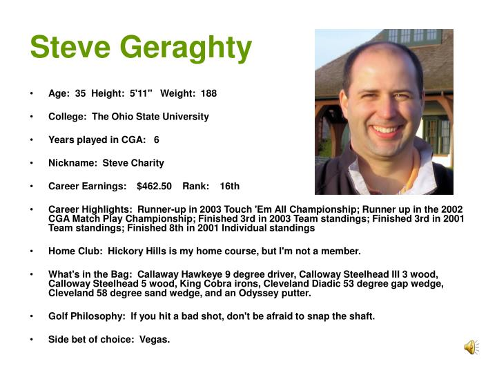 Steve Geraghty